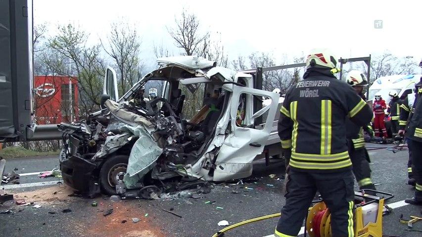 Tödlicher Auffahrunfall auf der A12 bei Wörgl