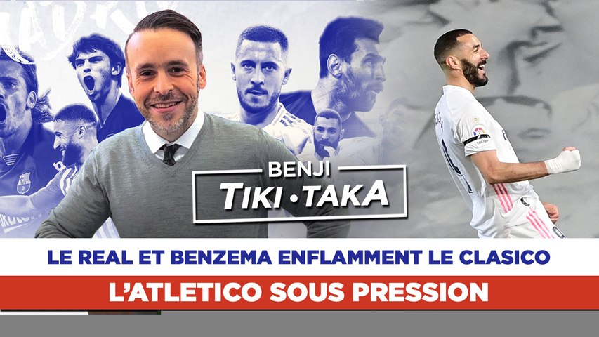 Benji Tiki-Taka : Benzema flambe, Messi déçoit