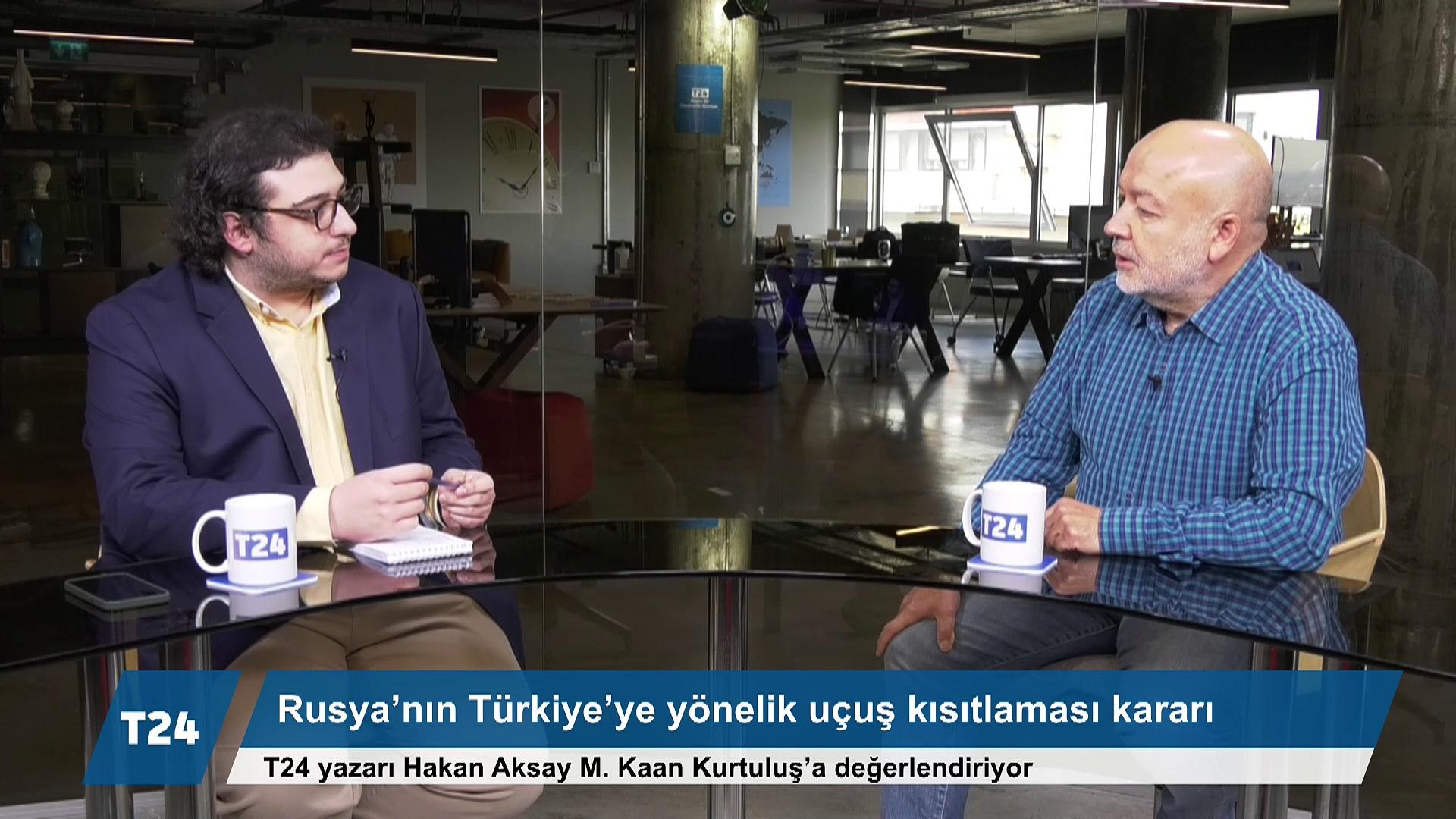 Hakan Aksay: Rusya'nın havayolu kısıtlaması, Korona kaygısından ziyade siyasi baskı isteğine dayanıyor