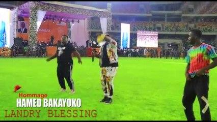 Landry Blessing - Hommage à Hamed Bakayoko - Live au Stade