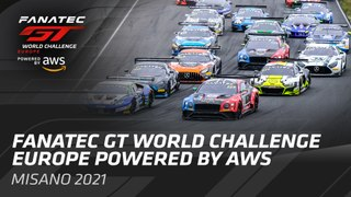Live from Monza - The Fanatec GT World Challenge Powered by AWS. - ENGLISH.