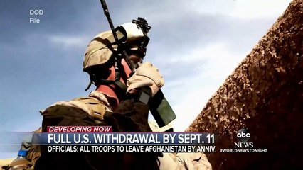 Biden US will pull troops from Afghanistan by September 11  WNT