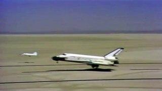 Se cumplen 40 años del primer aterrizaje del transbordador espacial