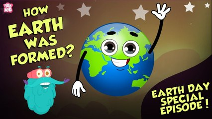 Formation Of The Earth   Earth Day Special   How EARTH Was Formed?   Dr Binocs Show   Peekaboo Kidz