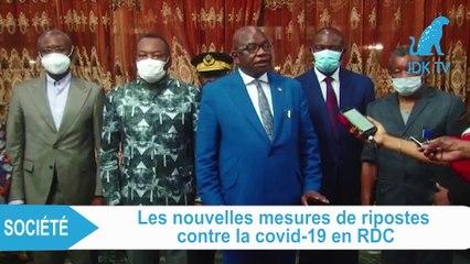 RDC : Vaccins et couvre-feu, nouvelles mesures de riposte contre la Covid-19