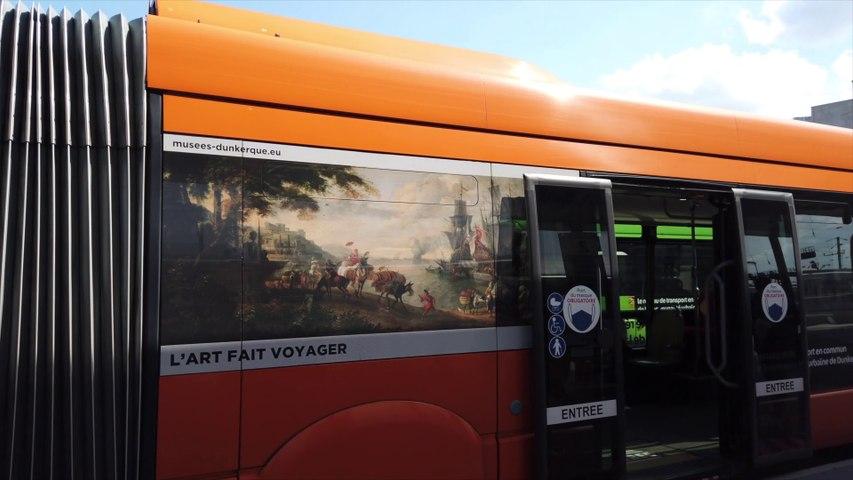 Actus : La culture vient à vous en s'affichant sur les bus de DK'BUS - 14 Avril 2021