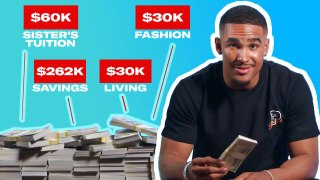 How Jalen Hurts Spent His First 1M in the NFL