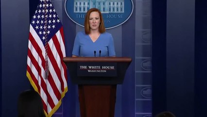 Jen Psaki holds White House press briefing  4-14-2021