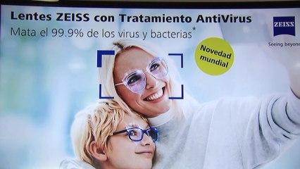 Un nuevo tratamiento elimina el 99,9% de virus y bacterias en lentes de gafas