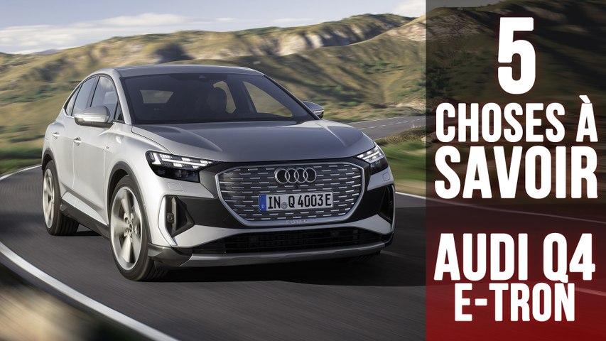 Audi Q4 e-tron, 5 choses à savoir sur le SUV compact 100 % électrique