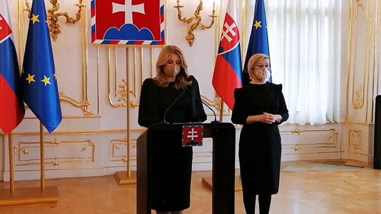 ZÁZNAM: Vyhlásenie prezidentky SR Z. Čaputovej