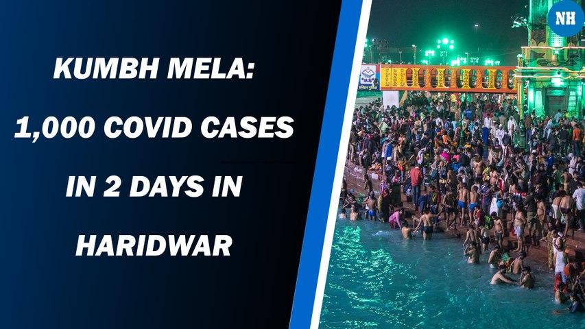 Kumbh Mela: 1,000 Covid Cases In 2 Days In Haridwar