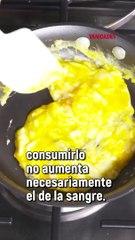 Leyendas sobre el consumo de huevos.