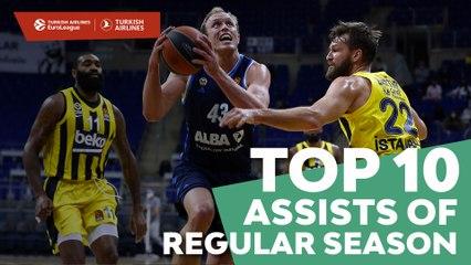 Top 10 Assists of the Regular Season!
