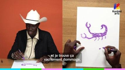 Le Papier Crayon de Jakman, peintre cowboy