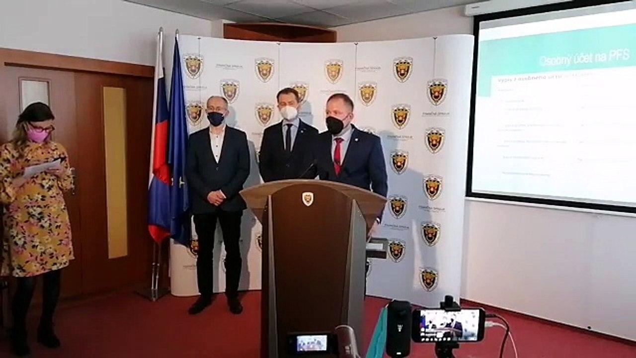 ZÁZNAM: TK ministra financií I. Matoviča a prezidenta FS J. Žežulku