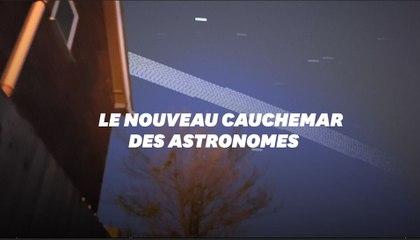 Les astronomes lancent l'alerte contre la pollution lumineuse des satellites