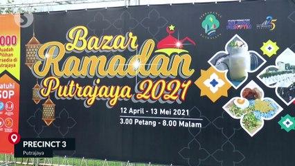 PM visits Ramadan bazaar in Putrajaya