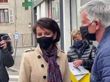 Régionales : Najat Vallaud Belkacem en visite dans la Loire - Reportage TL7 - TL7, Télévision loire 7