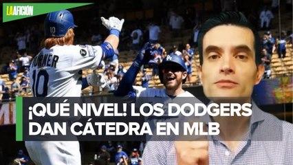 Dodgers sorprende en Grandes Ligas y demuestra un excelente nivel