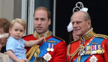 The Royal Family Shared a Rare Photo of Prince Philip With His Great-Grandchildren