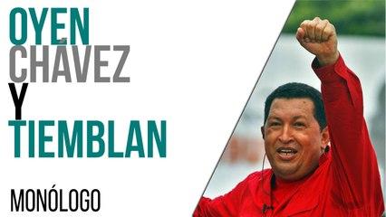 Oyen Chávez y tiemblan - Monólogo - En la Frontera, 15 de abril de 2021