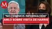 Visita de Kamala Harris a México sin fecha, pero será bienvenida_ AMLO