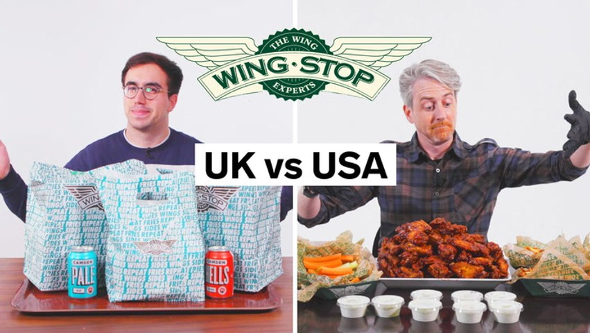 US vs UK Wingstop, everything from calorie count to portion sizes