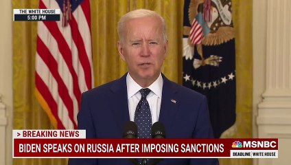 Biden 'Prepared To Take Further Action' If Russia Continues Election Interference