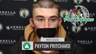 Payton Pritchard: You Could Say I Hit the Rookie Wall