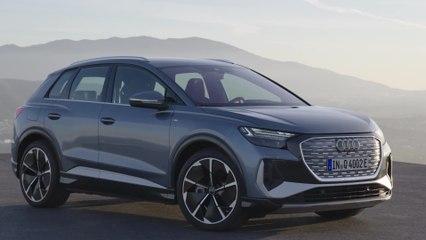 Highlights of the Audi Q4 e-tron design - Design Insight