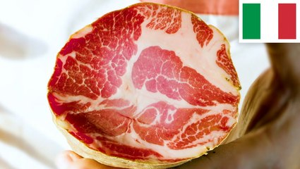 How capocollo, otherwise known as gabagool, is made in Italy