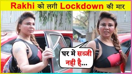 SHOCKING !! Rakhi Sawant In Trouble Due To Lockdown