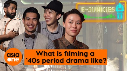 E-Junkies: Rebecca Lim, Pierre Png, and more talk about how filming 1940s drama This Land is Mine is like