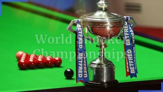 The World Snooker Championships: Everything you need to about