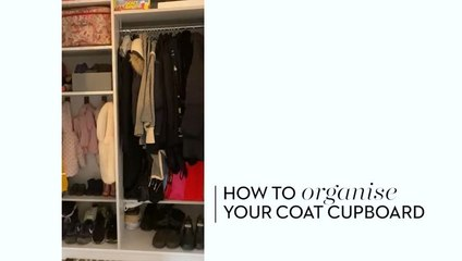 How to organise your Coat Cupboard