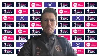 Gareth Taylor previews Man City Ladies v Villa in Vitality FA Cup