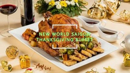 VIETNAM | New World Saigon Hotel | Happy Thanksgiving | Special Buffet At New World Saigon Hotel