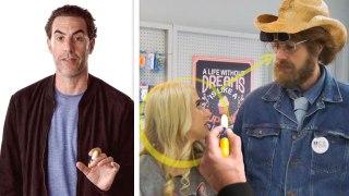 Sacha Baron Cohen Breaks Down 'Borat Subsequent Moviefilm's' Cake Scene