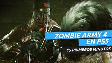 Zombie Army 4 Dead War Gameplay en PS5