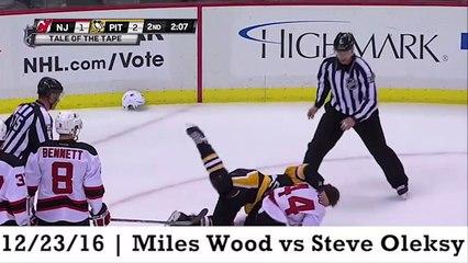 Top Ten Nhl Hockey Fights Of 2016-2017