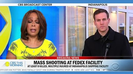 Eight people killed, multiple injured in shooting at Indianapolis FedEx facility