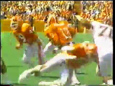 1986 Clemson Football Highlights
