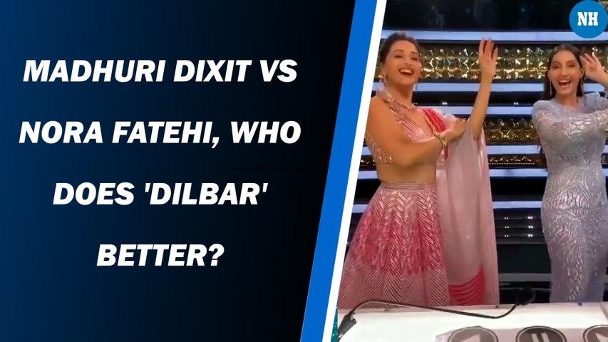 Madhuri Dixit vs Nora Fatehi, who does 'Dilbar' better?