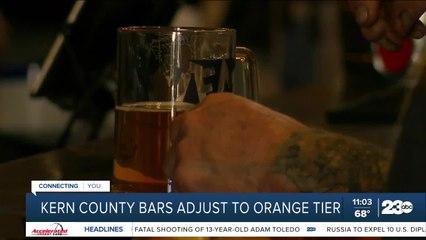 Kern County bars adjust to orange tier changes
