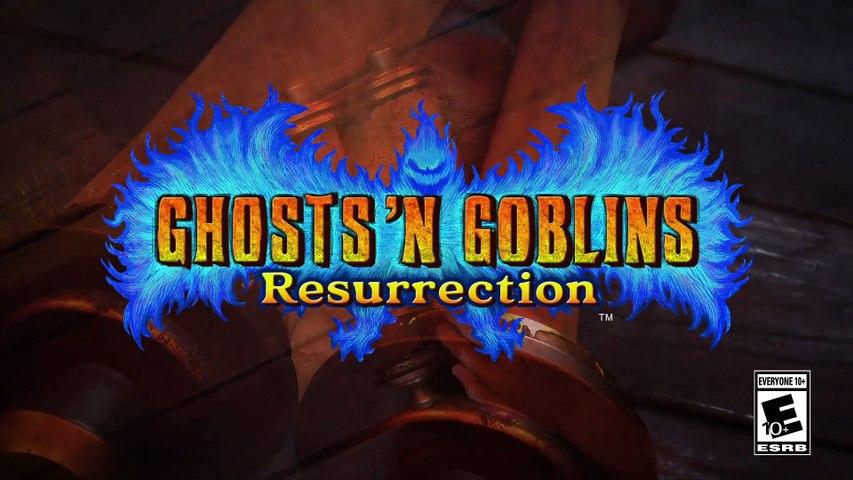 Ghosts 'n Goblins Resurrection - Trailer - Prepare to CHALLENGE AGAIN!