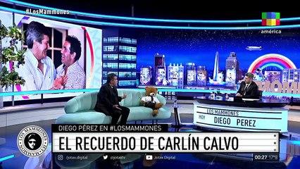 El desconsuelo de Diego Pérez al recordar a Carlín Calvo