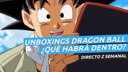 Unboxings sorpresa de Dragon Ball.  ¿Qué habrá dentro? -  Directo Z 01x33