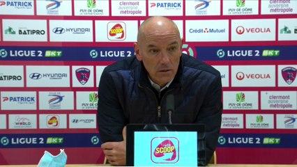 Après Clermont - HAC (1-1), réactions de Paul Le Guen