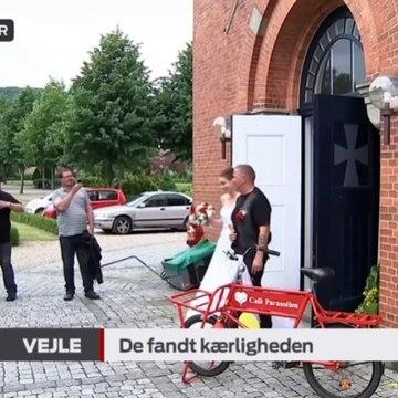 Hjemløse fandt kærligheden | De fandt kærligheden | Gilbert 'Bamse' Østrup & Capella 'Mulle' Fricke | Vejle | 23-06-2016 | TV SYD @ TV2 Danmark